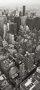New York Papier Peint Photo/Poster - Grattes-Ciel, Vue D'En Haut (202 x 90 cm)