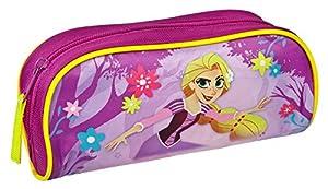 Undercover ravt0691Estuche Escolar, Disney Rapunzel, Aprox. 10x 6x 21cm