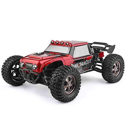 RC Auto kaufen Buggy Bild 2: HAIBOXING Ferngesteuert Auto 2,4 GHz 4WD 1/12 RC Desert Buggy 38 KM/H Hoch Geschwindigkeits Mit 6 LED-Leuchten, Hydraulikdämpfer Wasserdicht RC elektro Lastwagen RTR Hobby-Klasse*