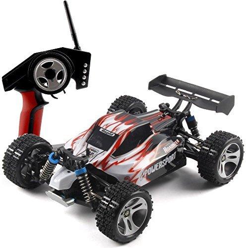 WLtoys A959 RC Spielzeug ferngesteuertes Auto 4WD Kardanantrieb LKW High-Speed-Rennen Geländewagen Spielzeug (A959)