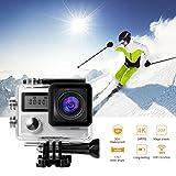 Sport Camera,LESHP 4k Ultra HD Wifi 2.0 Zoll 170 Weitwinkelobjektiv Wasserdichtes Auto DVR Sports Dv Outdoor Tauchen Fahrrad Camcorder