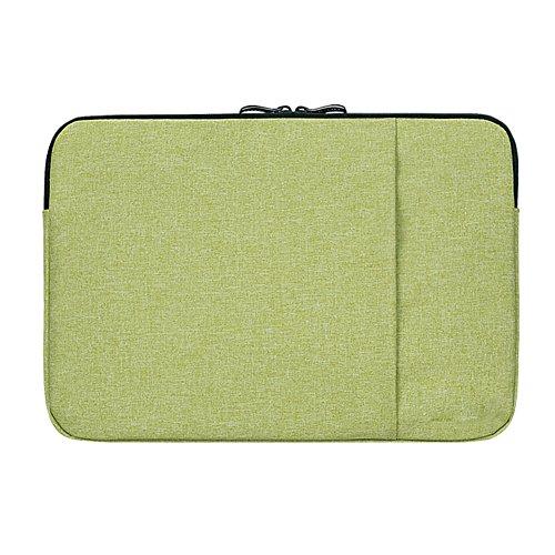 Happy Lily Taschenorganizer, grün (Grün) - notebooksleevesgreen13