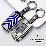 YSKDM Autoschlüssel Fall Schlüsseletui Abdeckung Crystal Diamond Schlüsselbund für Mercedes Benz A AMG C180 CLK E260L CLA CLS R S320 SLK S400 GLK GLA 3-Tasten-Schlüsselbund, Stil 2