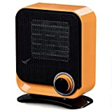 QLIGHA Heizhaus Silent Portable Dumping Power Quick Heat Heizungen,Orange