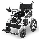 BNMYSY Elektrischer Rollstuhl, Intelligente Automatische Elektrorollstuhl,Faltbar Tragbare,Sitzbreite 41Cm, Frei-Reiten, Rollstuhl(Kann 100Kg Unterstützen)