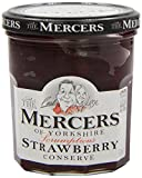 Mercers Strawberry Conserve 340 g (Pack of 3)