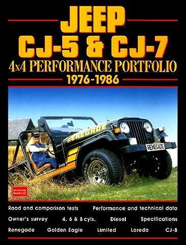 Jeep CJ-5 & CJ-7: 4x4 Performance Portfolio 1987-1999