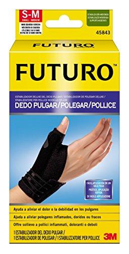 Futuro YP203001133 44844IE Stabilizzatore Pollice, L-XL, Nero
