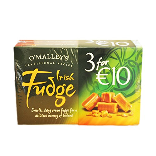 O'Malley's Irish Fudge 3 X 200g Schachtel