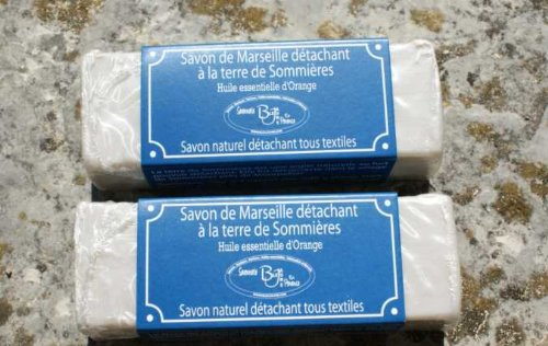 stain-remover-marseille-soap-2-pieces-with-sommieres-clay-orange-essential-oil-100-gr