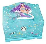 Depesche 10037 - Schmuckschatulle Fantasy Model Mermaid, mit Licht