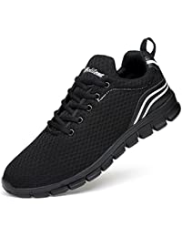 cheap for discount 18448 87d7b Ritiriko Women Ladies Trainers Road Running Shoes Athletic Sneakers for  Walking Gym Sport