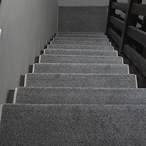 Skid-resistant rubber backing non-slip carpet stair treads-machine washable area rug-G 65×24×3cm(1