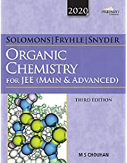 Wiley's Solomons Fryhle & Snyder Organic Chemistry for JEE