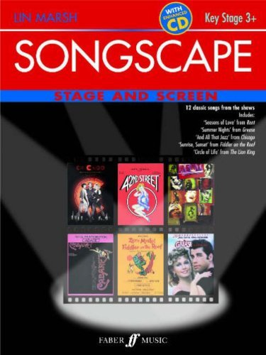 Songscape: Stage and Screen: 12 Classic Songs from the Stage and Screen by Lin Marsh (Editor) (21-Jun-2007) Sheet music