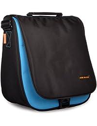 ARB BAGS Sling Trendy Messenger Side Bag Black & Sky Blue