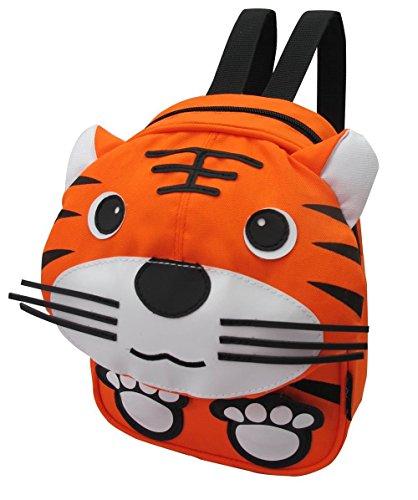 (Tierkinderrucksack Kleinkind Jungen Mädchen Rucksäcke Tasche Original-Certified Kidland 1-4 Jahre, viele Entwürfe (Tiger))