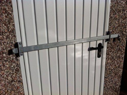 Barrera de bloqueo para cobertizo de jardín, de fábrica, puerta de oficina,...