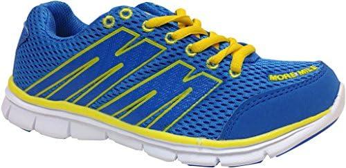 More Mile Oslo MM1691 - Zapatillas de deporte para chico, color azul y amarillo azul azul/amarillo Talla:UK 2