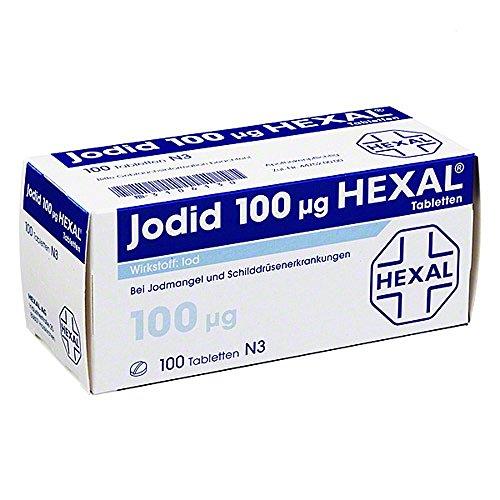Jodid 100 Hexal Tabletten 100 stk