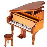 ammoon Liquidez Piano en Bois Boîte à Musique Classical Mélodie Music Box Castle dans le Melody Cadeau Nuage pour les Enfants Filles