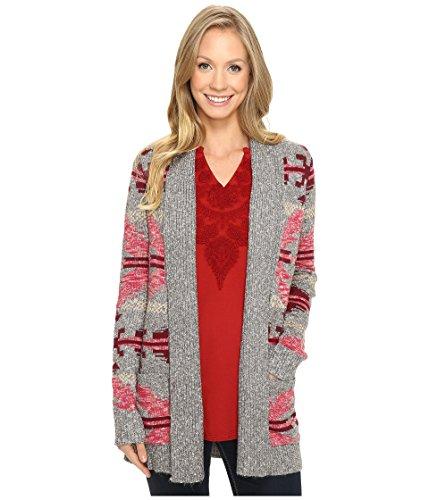 Lucky Brand Women's Intarsia Sweater Coat, Multi, X-Small (Lucky Brand Cami)