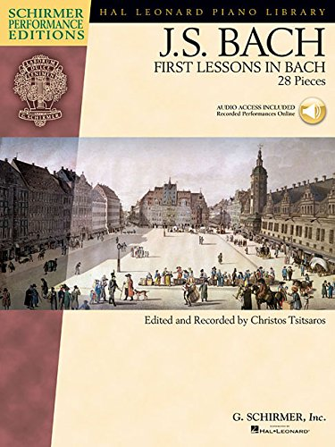 First Lessons in Bach Piano +Enregistrements Online (Book & CD)