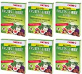 (6 PACK) - Ortis - Ortis Fruits And Fibre Cubes | 12 Cubes box | 6 PACK BUNDLE
