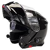 Viper RS-V171 Blinc Bluetooth + 3.0 Fullface Helm Klapphelm Motorrad Helm Roller mit Doppelvisier...