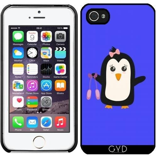 Custodia in silicone per Iphone 7 / Iphone 8 - Pinguino Ballerino by ilovecotton Plastica rigida