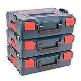 3er Pack Bosch L-Boxx 136 Gr. 2 ohne Einlage - Neue Ausführung