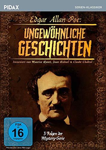 Edgar Allan Poe - Ungewöhnliche Geschichten / 3 Folgen der spannenden Mystery-Serie (Pidax Serien-Klassiker)