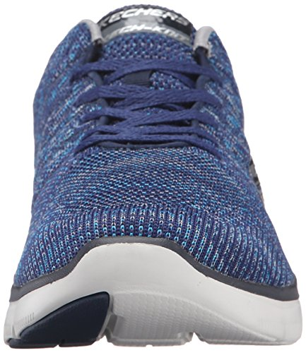 Skechers (SKEES) Flex Advantage 2.0, baskets sportives homme bleu (NVGY)