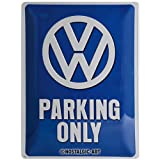 Nostalgic-Art 23135 Volkswagen - VW Parking Only, Blechschild 30x40 cm