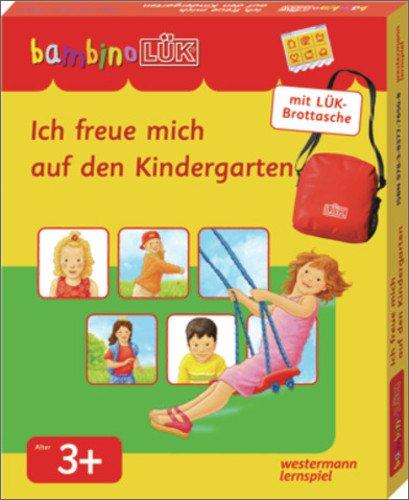 Kostüm Lehrbuch - bambinoLÜK-Sets / bambinoLÜK-Set: Ich freue Mich auf den Kindergarten: ab 3 Jahren