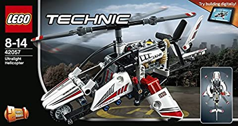 LEGO - 42057 - Technic - Jeu de construction - L'hélicoptère Ultra-léger