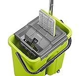 CleanUP Reinigungssystem aus flachem Mop und Eimer