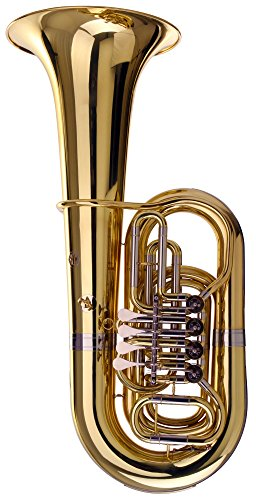 Classic Cantabile Brass T-310 Tuba (Schallbecher: 425mm, Bohrung 19mm, inkl. Mundstück und ABS-Koffer)