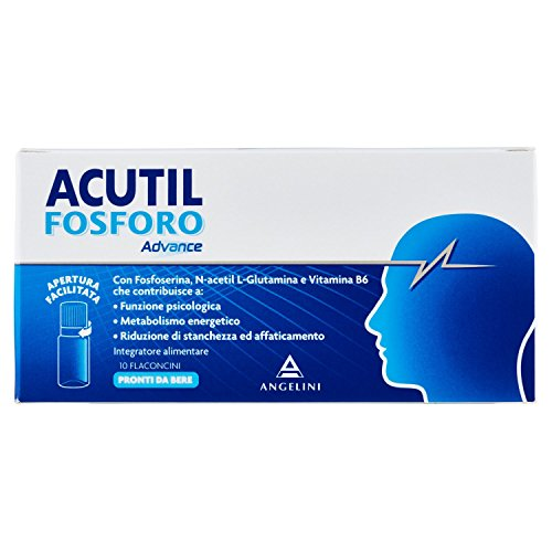 Angelini Acutil Advance Fosforo, 10 Flaconcini