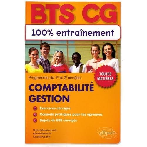 Bts Comptabilite Gestion (Cg)