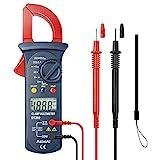 AstroAI Digital Clamp Meter, Auto Ranging Multimeter and Volt Meter; Measures Voltage Tester