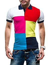 LIKE TINA - T-shirt à manches courtes – Polo - LIKE TINA 4037 – Homme