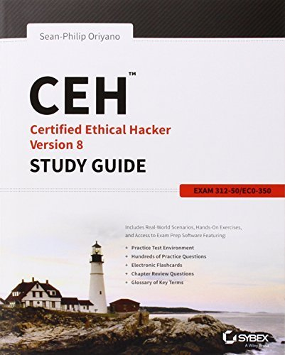 CEH: Certified Ethical Hacker Version 8 Study Guide by Oriyano, Sean-Philip (2014) Paperback