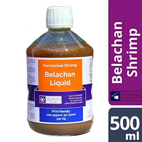 Ourons 500ml Belachan Liquid - Fermented Shrimp Carp Fishing Bait Attractant