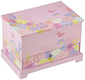 Girl 39 s musical ballerina jewelry box in multicolor amazon for Amazon ballerina musical jewelry box