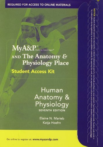 MyA&P Student Access Kit for Human Anatomy and Physiology with E-book by Elaine N. Marieb (2006-01-06)