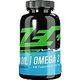 ZEC+ hochdosierte OMEGA-3-Fettsäuren | Fischöl | Fatburner | EPA DHA | höchst-mögliche REINHEIT | 250 Kapseln