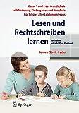 Lesen und Rechtschreiben lernen: nach dem IntraActPlus - Konzept - Fritz Jansen, Uta Streit, Angelika Fuchs