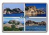 Corfu Greece fridge magnet.!!! - Calamita da frigo