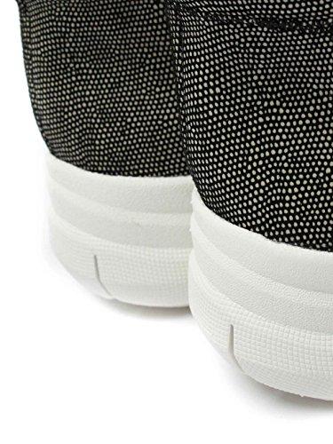 FitFlop™ Sportif-pop X Noir Imprimé De La Haute – Top Sneakers Lézard Noir